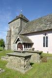 St Marys Norman Church, Kempley photo libre de droits