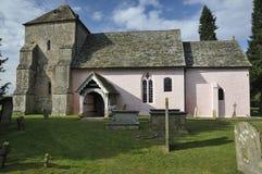 St Marys normandczyka kościół Zdjęcia Royalty Free