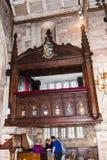 St Marys, Onder- Alderley-Parochiekerk in Cheshire Royalty-vrije Stock Afbeeldingen