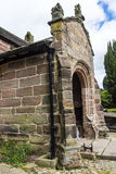 St Marys, Onder- Alderley-Parochiekerk in Cheshire Royalty-vrije Stock Foto's