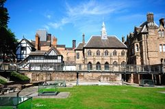 St Marys Priory Garden, Coventry. Royalty Free Stock Image