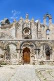 St Marziano kerk in Syracuse, Sicilië, Italië Stock Afbeeldingen