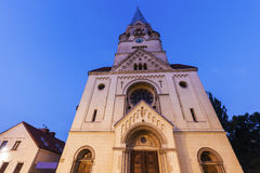 St. Matheus Church in Lodz Stock Photography