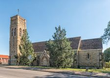St Mathews Anglican church in Estcourt. ESTCOURT, SOUTH AFRICA - MARCH 21, 2018: The historic St Mathews Anglican church in Estcourt in the Kwazulu-Natal Royalty Free Stock Photo