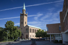 St Matthaus-kirche (san Matthew Church) a Berlino Fotografie Stock Libere da Diritti
