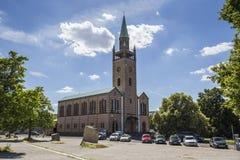 St Matthaus-kirche (santo Matthew Church) en Berlín Imagen de archivo