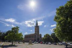 St Matthaus -matthaus-kirche (Heilige Matthew Church) in Berlijn Royalty-vrije Stock Foto's