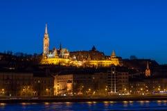 St. Matthew Church in Budapest Lizenzfreie Stockfotos