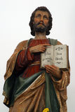 St.Matthew the Evangelist. Statue on the church altar Royalty Free Stock Images