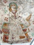 St Matthew schreibt sein Evangeliumbuch Lizenzfreie Stockfotos