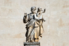 St. Matthew statue Stock Images