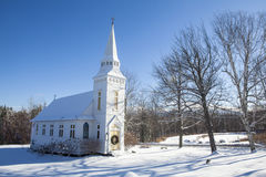 St. Matthews Episcopal Church, Sugar Hill, New Hampshire, USA herein Stockfotos