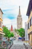 ST Matthias Church στη Βουδαπέστη ένας από τον κύριο ναό σε Hunga Στοκ Φωτογραφία