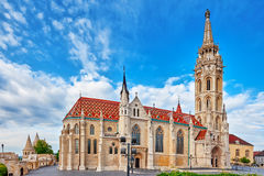 ST Matthias Church στη Βουδαπέστη ένας από τον κύριο ναό σε Hunga Στοκ εικόνα με δικαίωμα ελεύθερης χρήσης