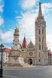 ST Matthias Church στη Βουδαπέστη ένας από τον κύριο ναό σε Hunga Στοκ Εικόνες