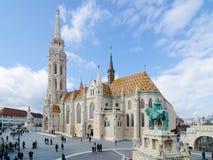 ST Matthias Church στη Βουδαπέστη ένας από τον κύριο ναό στην Ουγγαρία Στοκ φωτογραφία με δικαίωμα ελεύθερης χρήσης