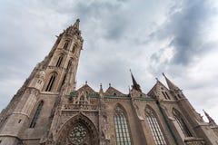 ST Matthias Church στον προμαχώνα ψαράδων ` s στη Βουδαπέστη, Ουγγαρία Στοκ φωτογραφία με δικαίωμα ελεύθερης χρήσης
