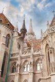 ST Matthias Church στον προμαχώνα ψαράδων ` s στη Βουδαπέστη, Ουγγαρία Στοκ φωτογραφίες με δικαίωμα ελεύθερης χρήσης