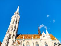 St Matthias Church on Buda Castle Hill, Budapest, Hungary Stock Images