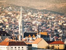 St Matthias Church on Buda Castle Hill, Budapest, Hungary.  royalty free stock images