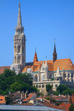 St. Matthias Church in Budapest Royalty Free Stock Photos