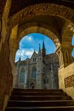 St. Matthias Church, Budapest , Hungary royalty free stock image