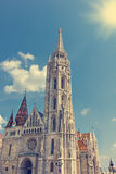 St. Matthias Church in Budapest Stock Images