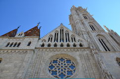 St. Matthias Church in Budapest Royalty Free Stock Images