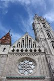 St. Matthias church in Budapest. View of st. Matthias church tower, Budapest Royalty Free Stock Photography