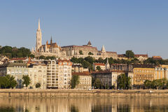 St  Matthias Church and Fishermans Bastion Royalty Free Stock Images