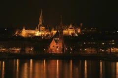 St. Matthias kerk in Boedapest Stock Fotografie