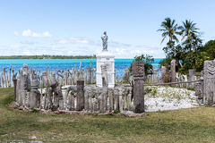 St Maurice memorial on Île des Pins Stock Photo