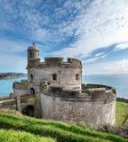 St Mawes城堡 库存照片