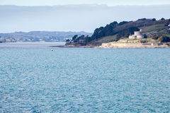 St Mawes castle in Cornwall england uk Stock Photos