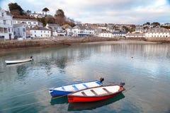 St Mawes i Cornwall Arkivbild