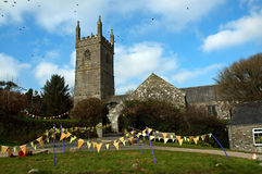 St Mawgan in Meneage Royalty Free Stock Photo