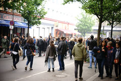 1st May demonstracja Berlin Kreuzberg Obrazy Stock
