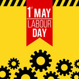 1st May labour day banner. 1st May labour day themed banner vector illustration