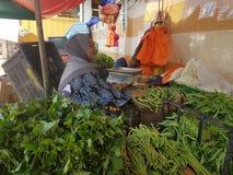 1st May Seremban, Malaysia. Main Market known as Pasar Besar Seramban during the weekend. Pasar Besar Seremban during the weekend royalty free stock images