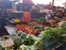 1st May Seremban, Malezja Magistrala rynek znać jako Pasar Besar Seramban podczas weekendu Obrazy Royalty Free