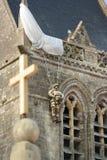 St mero Eglise Foto de Stock