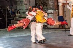 st międzynarodowy festiwal w Plovdiv, Bułgaria Obrazy Stock