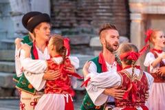 st międzynarodowy festiwal w Plovdiv, Bułgaria Zdjęcie Stock