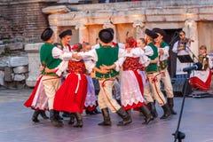 st międzynarodowy festiwal w Plovdiv, Bułgaria Obrazy Royalty Free