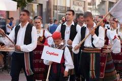 st międzynarodowy festiwal w Plovdiv, Bułgaria Fotografia Royalty Free