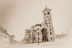 St Michael's Kathedraal royalty-vrije stock afbeeldingen