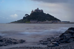 St Michael's Mount. A view of St Michael's Mount at dawn Royalty Free Stock Images