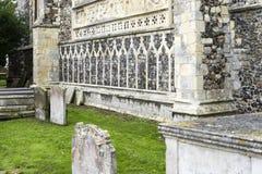 St Michael ärkeängelförsamlingkyrkan, Beccles, Suffolk, Englan royaltyfria bilder