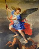 St Michael ärkeängeln Arkivbilder