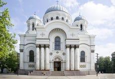 St Michael ärkeängelns kyrka arkivfoton